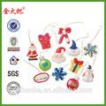 décoratifs de noël suspendus morceaux pour la vente