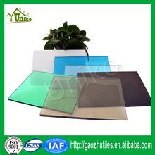 100% Bayer virgin uv-protection china anti-fog corrugated impact resistance polycarbonate sheet plastic