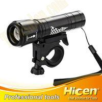 Focus Control System Flashlight With Plastic Holder