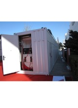 Best Selling 40ft Mobile Fuel station for Luanda Angola