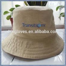 fashion design polo cotton bucket hat embroidery logo bucket hat