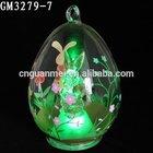 2014 Bunny Glass Easter Egg Hanging Balls Manufacturer