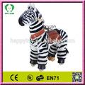 Hi EN71 grande remise en cuir cheval de jouets / jouet en plastique chevaux pour kid