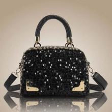 BV1093 new model leopard sequined handbag trendy shoulder bag women messenger cheap lady bags