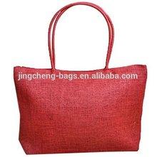 Straw pp woven beach bags