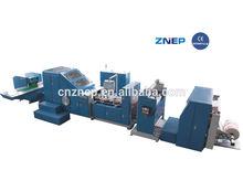 china supplier ZD-F290 gift paper bag making machine