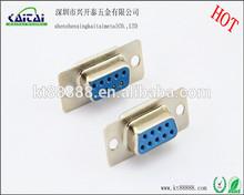 d sub high density db9p solder female adapter