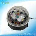 salón de baile de luz 6 pcs 1w led de cristal mágica bola de luz y sonido activado led para las luces de patines