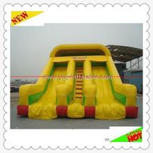 2014 Popular Customized 0.55mm PVC inflatable water slides wholesale children park