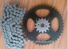 best bajaj pulsar 180 motorcycle chain kit,420chain/428chain/530chain/ wheel chain /industry chain