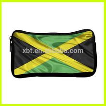 Jamaica Flag Neoprene Pencil Bag
