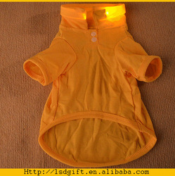 Hot sale glow factory dog clothing