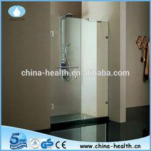 chrome shower hinge handle for folding screen shower door
