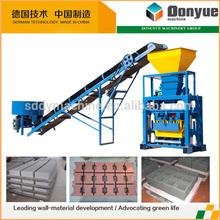 QT40-1 simple concrete cement block making machine / manual operated concrete block making machine