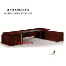 modern mobile computer workstation office melamine desk DH103