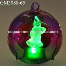 Hand Blown Clear Christmas Glass Ball Ornaments Bulk