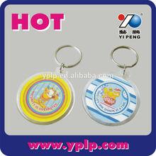 2014 Souvenir Acrylic Keychain, acrylic keyring wholesale