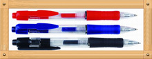 promotional high quality plastic roller pen