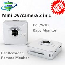 P705-New!!! Portable Multifunction WIFI camcorder, CCTV P2P HD IP cameras , baby monitor, car recorder, mini camera wifi