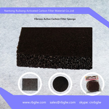 China fibrous sponge filter Active Charcoal Mesh