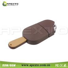 New cheap cartoon gift ice Creams model usb 2.0 memory flash pen drive stick