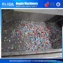 PET plastic bottle washing machine / PET flakes washing line