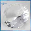 16mm nouveau produit en porcelaine de fantaisie en verre de cristal clair et blanc brillant rond en cristal taillé en pierre faux diamants bruts bruts