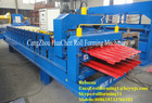 Antique glazed tile and IBR metal roofing making machine