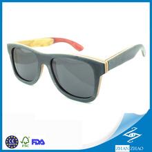 New style 2014 fashion Skateborad wood sunglasses