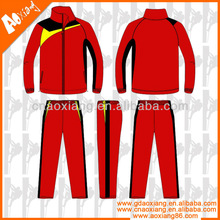 2014 china guangdong High qualityschool football cotton track suit sport wear