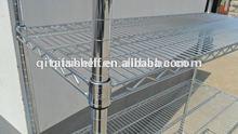Home & restaurant storage chrome plated custom wire shelvings