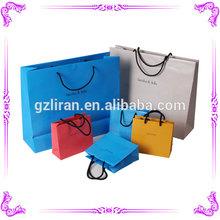 2014 shopping bag paper retail paper bag&paper bag for bottle