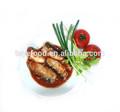 de alta calidad de sardinas en conserva en salsa de tomate