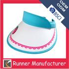 Ladies sun visor cap UV summer visor