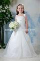 ht954 poco elegante fuera de los ángeles blanco vestidos de flores niña