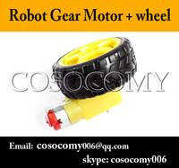 Intelligent Car Gear Motor Robot Gear Motor TT Motor + wheel