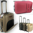 folding wheels for long luggage trolley bags with rhinestones latches