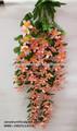 Atacado artificial de seda pendurado flor narciso fazendo/decorativo pendurado seda narciso artificial flores made in china