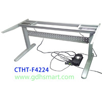 160kgs loading height adjustable office desk frame with 3C & CE and UL prove