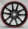 17inch aftermarket alloy wheel rim
