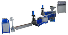 Plastic recycling and pelletizer machine