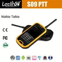 stock lot outdoor waterproof rugged 3g android mobile walkie talkie gps smart tough phone s09