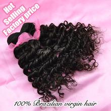 high quality AAAAAA hair! grade 6A, !brazilian vigin hair extension,curly hair, deep curl