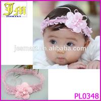 Cute Lovey Baby Pink Flower Headwear Hair Band Infant Toddler Girl Headband 2014