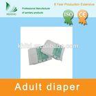 white double tape model M adult diaper in bulk