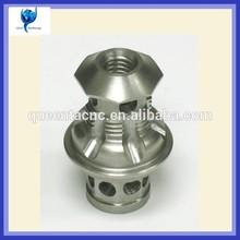 High precision aluminum CNC turning pen parts