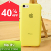 2014 New hot sale Soft TPU Screen Protect Flip Folio Phone Case Cover for iPhone 5C