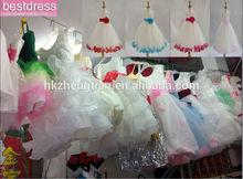 bestdress IVORY ROYAL BLUE FORMAL HOLIDAY KIDS WEDDING FLOWER GIRL DRESS
