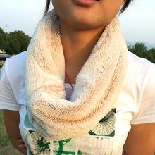 2014 Hot Selling Furry Neckwarmer Women Polyester Fur Scarves