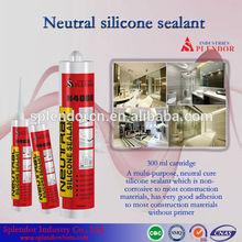 Neutral Silicone Sealant/granite polymer silicone sealant/rebar adhesive silicone sealant supplier/silicone roof sealant